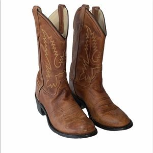 Old West Rustic Cowboy Boots